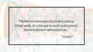 tomas recenzia - autoservis automatických prevodoviek